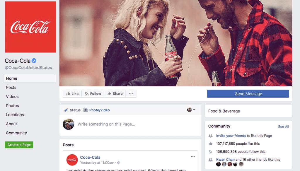 Coca-Cola community
