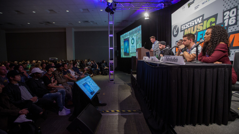 Panel at SXSW INteractive 2016