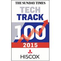 Sunday Times Tech Track 100 award logo