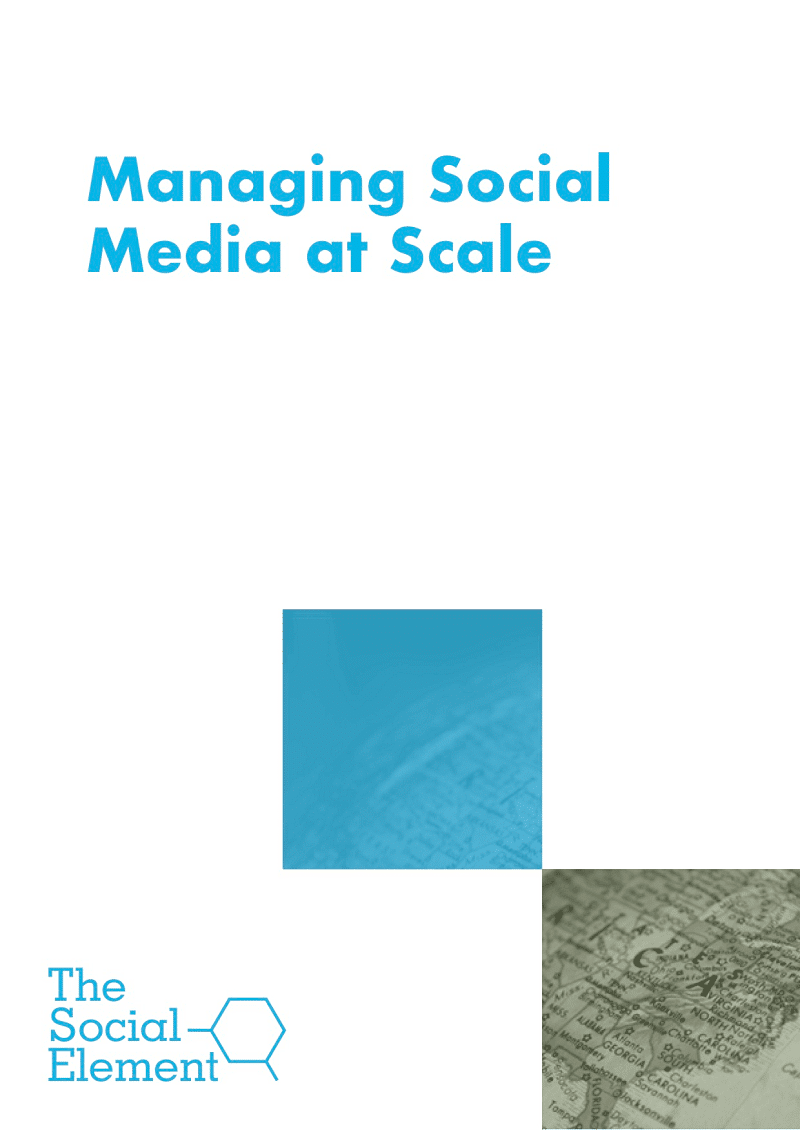 social media at scale