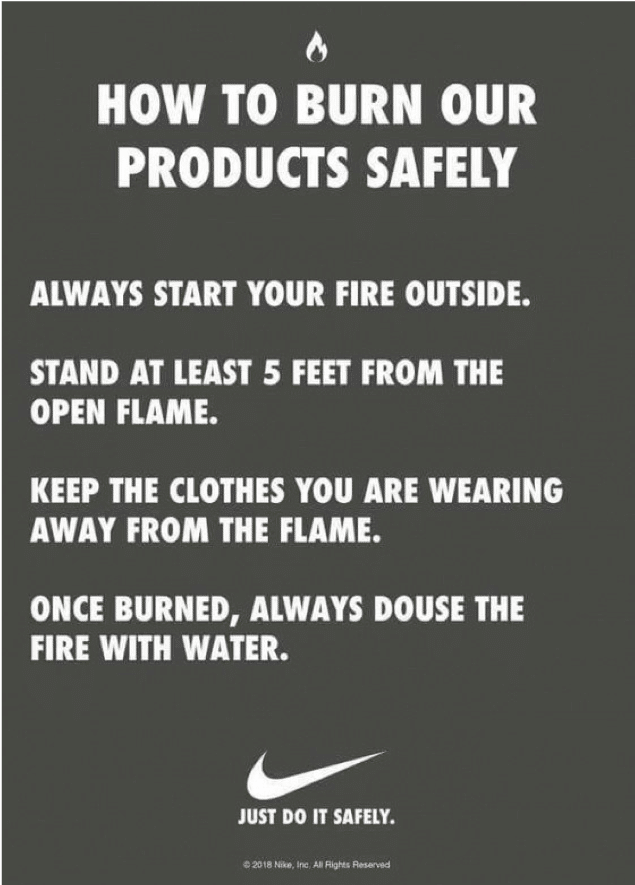 Nike's crisis management strategy